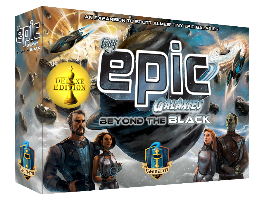 Tiny Epic Galaxies Beyond the Black Deluxe