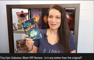 Man vs. Meeple w/ Kira Tiny Epic Galaxies: Blast Off! Review – Is it any better than the original?