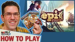 Tiny Epic Pirates Watch it Played