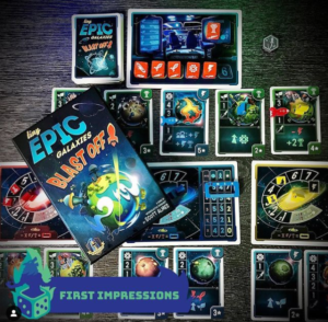Beastie Geeks Blast Off into Tiny Epic Galaxies – First Impressions
