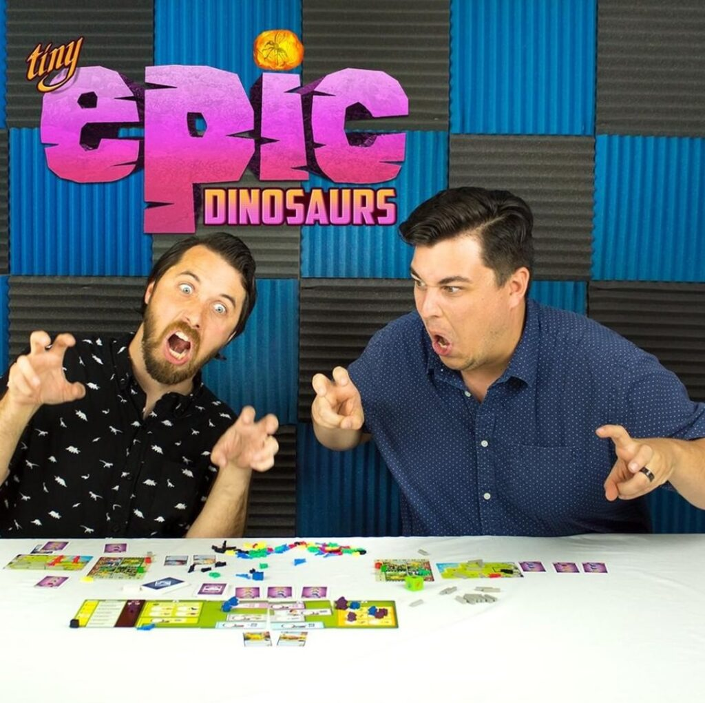 Never Bored Gaming   Our Thoughts   Tiny Epic Dinosaurs