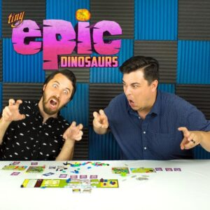 Never Bored Gaming | Our Thoughts | Tiny Epic Dinosaurs