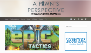 A Pawns Perspective – Tiny Epic Tactics Review