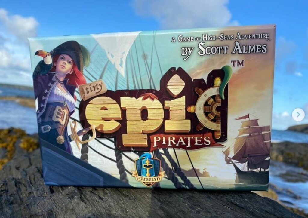 Meeple V Meeple Pirate Review