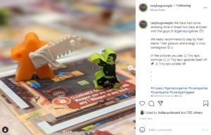 Ladybug Meeple @ Essen Spiel 2021 Coverage